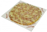 Ham and Sauerkraut Pizza